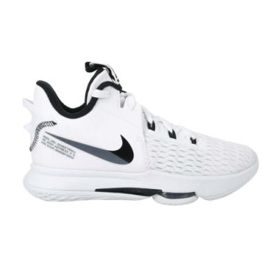 NIKE LEBRON WITNESS V EP 男籃球鞋-氣墊 高筒 避震 CQ9381101 白黑