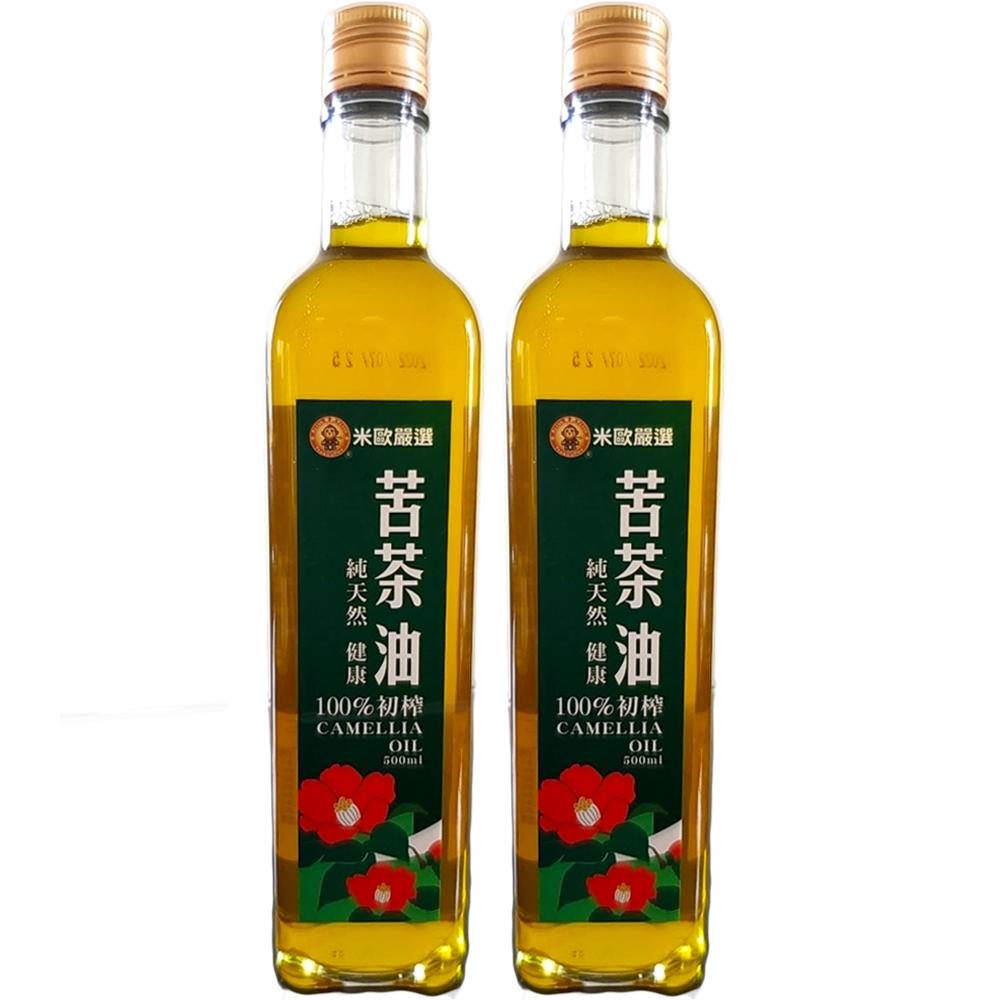 米歐 苦茶油2瓶組(500ml/瓶)全素可