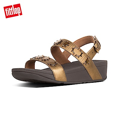 FitFlop STUD BACKSTRAP SANDALS-銅色