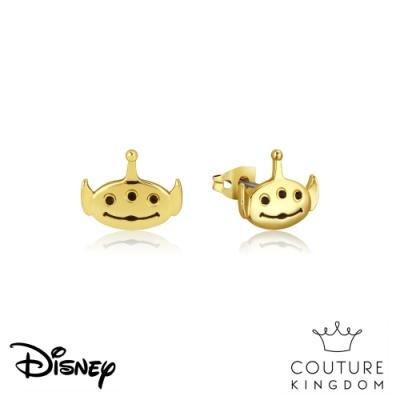 Disney Jewellery by Couture Kingdom 玩具總動員三眼怪鍍14K金耳釘