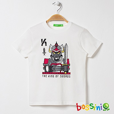 bossini男童-印花短袖T恤03灰白