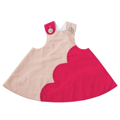 MARLMARL雙面圍裙系列 調色盤/ 莓果點點