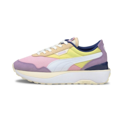 PUMA Cruise Rider Silk Road Wns 女 休閒鞋 黃粉紫-37507201