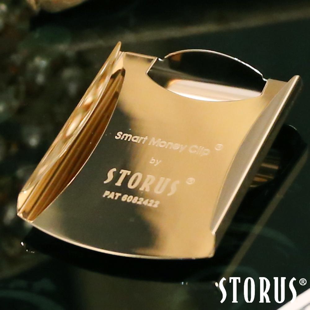 美國STORUS 聰明卡片錢夾 專利時尚設計-宮廷金 鈔票夾 信用卡 名片夾 西裝配件