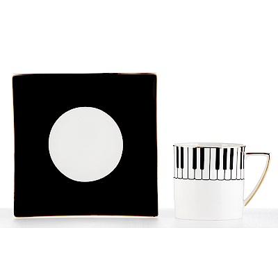 Royal Duke 骨瓷咖啡對杯-鋼琴
