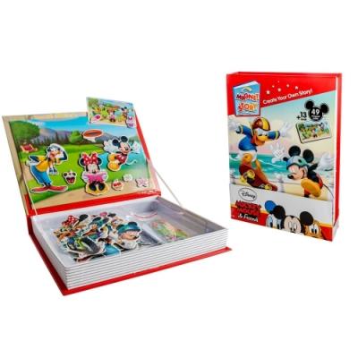 迪士尼故事磁鐵書 (米奇,公主,維尼,玩具總動員,冰雪奇緣 5款可任選)