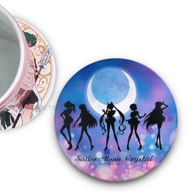 官方授權 Sailor Moon美少女戰士 吸水杯墊 鶯歌陶瓷 (集合剪影)