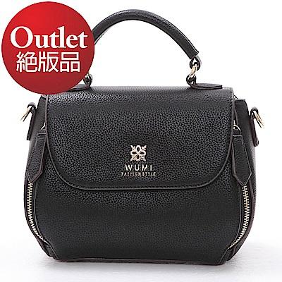 WuMi 無米 喬娜絲時尚mini包 經典黑