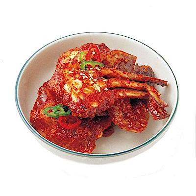 【韓味不二】辣味螃蟹醬(200g)