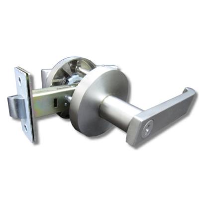 守門員系列 P703 浴室鎖 水平把手鎖 銀色 60mm 下座水平鎖 浴廁鎖 管型板手鎖