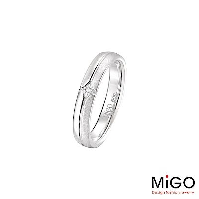 MiGO 真愛純銀女戒指