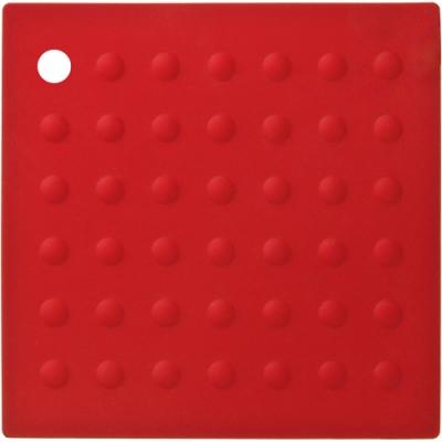 《Premier》Zing方形矽膠隔熱墊(紅)