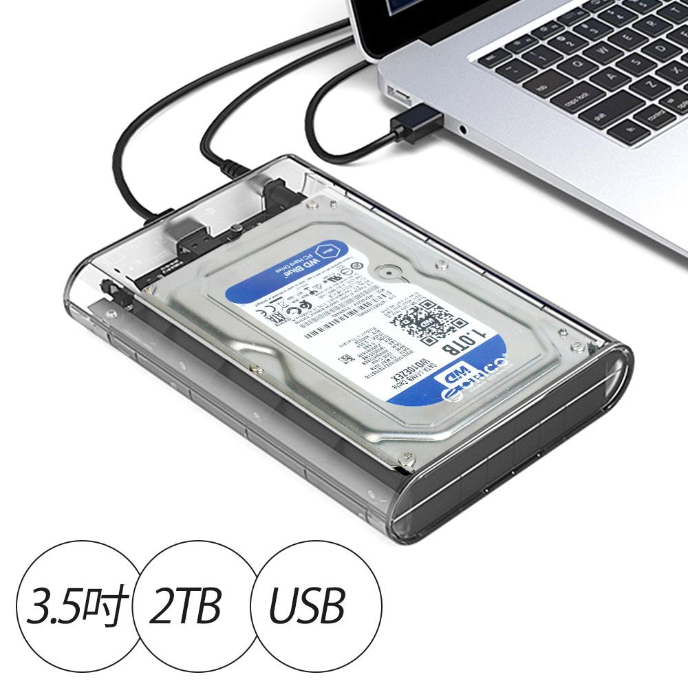 iStyle 2TB 蘋果外接硬碟 3.5吋