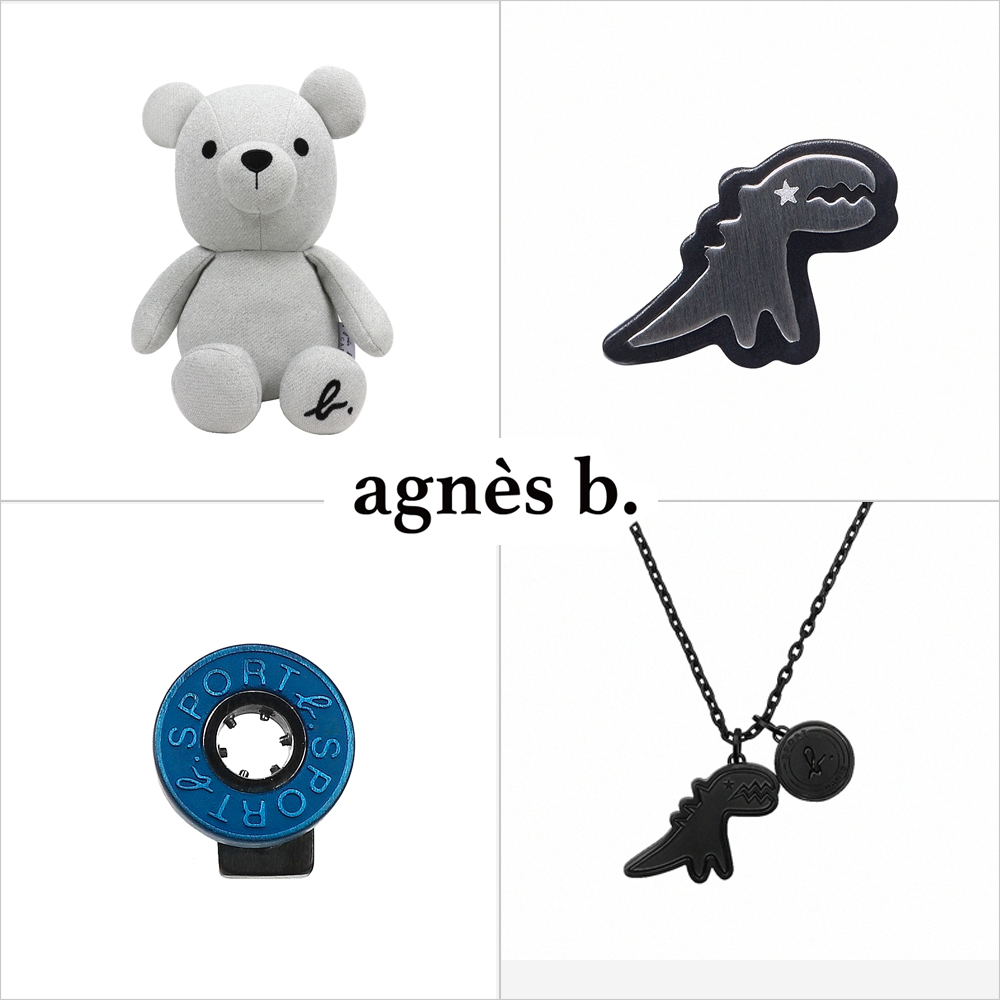 agnes b. 耳環/玩偶均價918
