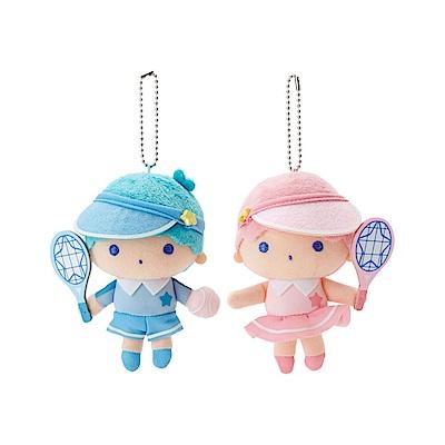 Sanrio 雙星仙子活力網球系列造型玩偶吊鍊組(一組2個入)