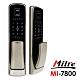 Milre美樂 推拉式密碼/指紋/卡片/鑰匙智能電子門鎖MI-7800-香檳銀(附基本安裝) product thumbnail 2