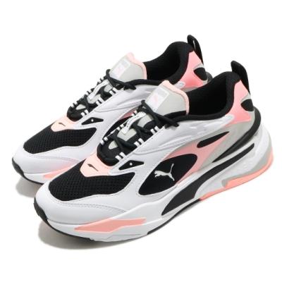 Puma 休閒鞋 RS-Fast 運動 男女鞋 基本款 舒適 簡約 情侶穿搭 黑 粉 38056206