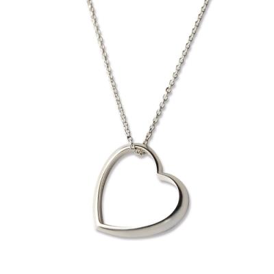 【Georg Jensen 喬治傑生】#600A Heart 純銀項鍊