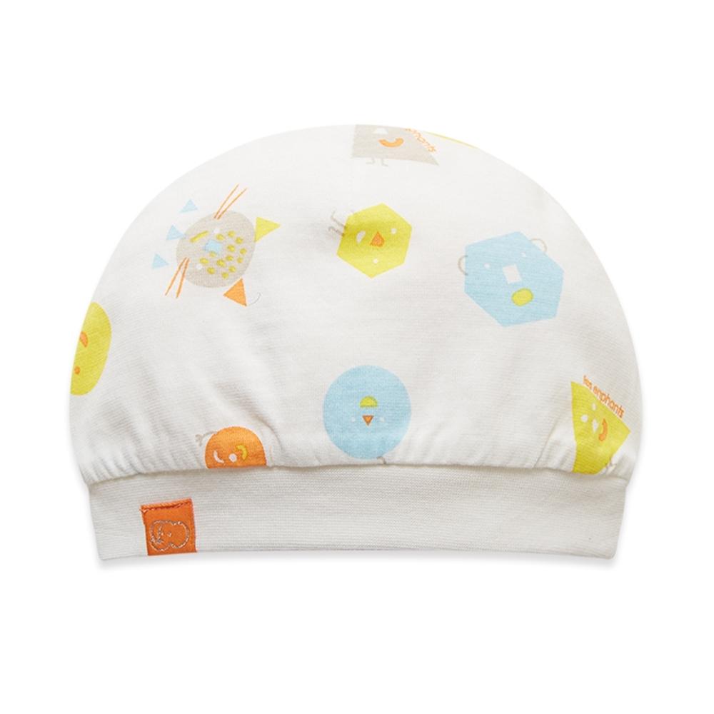 【麗嬰房】Cloudy雲柔系列 童趣印花寶寶帽  (6個月)