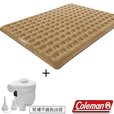Coleman N608+充氣幫浦 充氣睡墊300+電池打氣機組 露營床/充氣床/露營睡墊