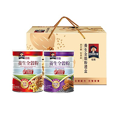 桂格 養生全穀粉禮盒(600gx2罐)