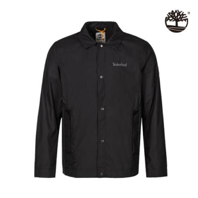 Timberland 男款黑色輕量防潑水透氣夾克 A24JV