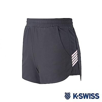 K-SWISS PF Shorts 運動短褲-女-黑