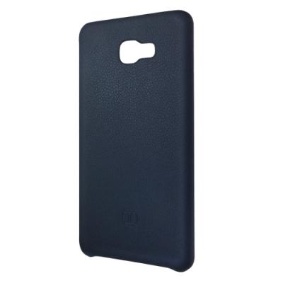 SAMSUNG GALAXY C9 Pro 原廠皮革背蓋保護殼 藍 (台灣公司貨-盒裝)
