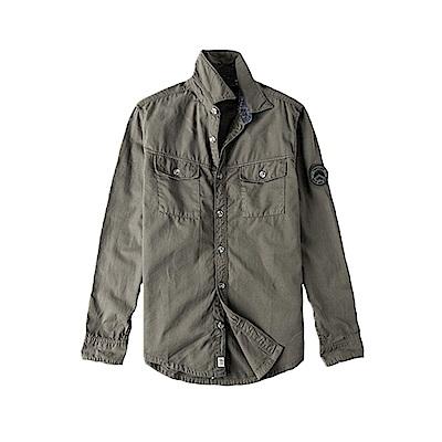 Timberland 男款軍風襯衫式休閒外套|A1NN2037