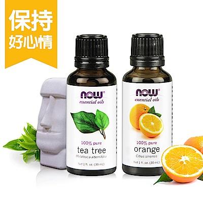 天然茶樹精油(30 ml)+甜橙精油(30 ml)心情美麗組
