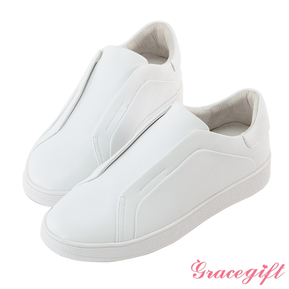 Grace gift X 許允樂-聯名必備純白小白鞋 白