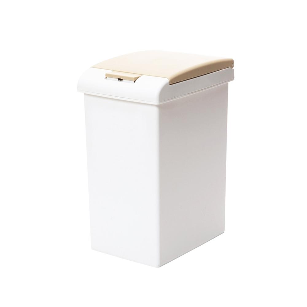 +O家窩 日本製諾亞按壓彈蓋式防臭垃圾桶-20L