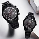 ALBA雅柏 情人最時尚 情侶對錶(AT3G39X1+AP6641X1)-44+36mm