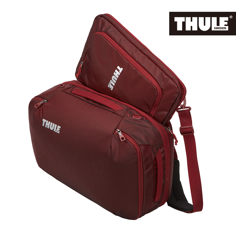 THULE-Subterra Carry 40L肩背兩用旅行包TSD-340-磚紅