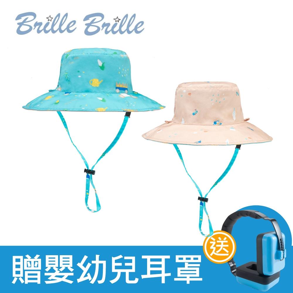 【Brille Brille】雙面防曬帽-金色麥田