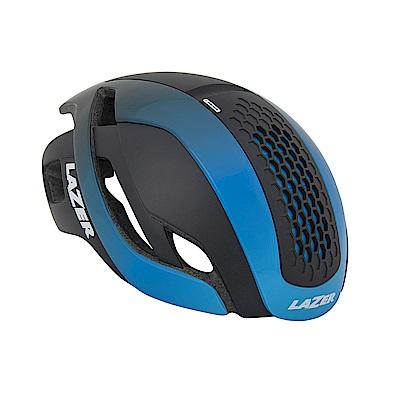 【LAZER】Bullet 空氣力學安全帽 黑/漸層藍