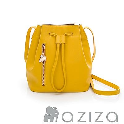 AZIZA  MAHA水桶包-黃