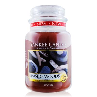 YANKEE CANDLE香氛蠟燭-沿海漂流木 SEASIDE WOODS 623g