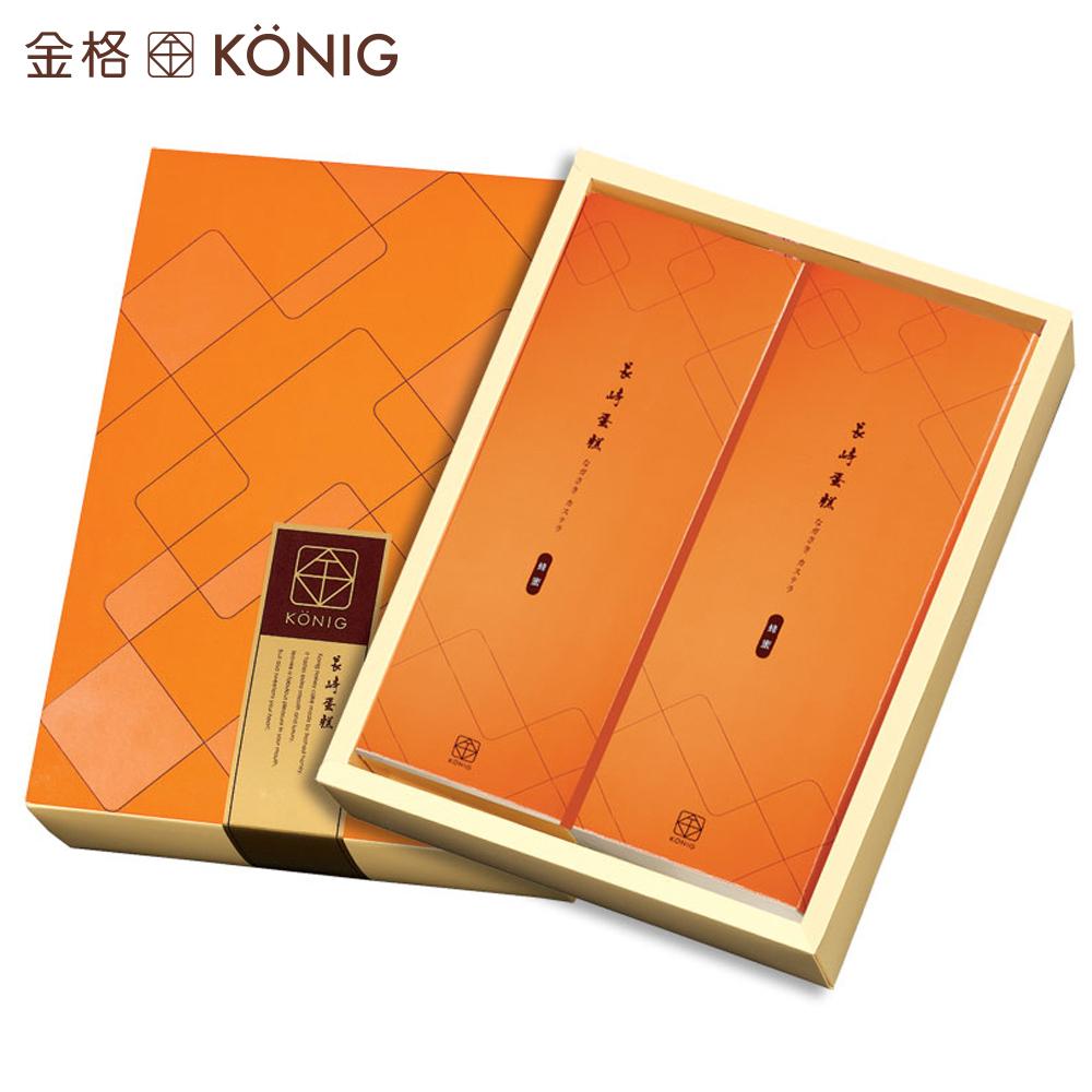 【金格食品】長崎蛋糕禮盒-蜂蜜(2入/盒)