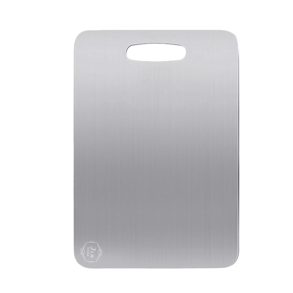 【judy家居生活用品館】304不鏽鋼砧板-大款45.5X33.5cm
