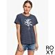 【ROXY】TODAY GOOD DAY B T恤 海軍藍 product thumbnail 1