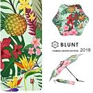 【BLUNT】2019 台灣區限量版 圖騰  完全抗UV折傘 夏日森林