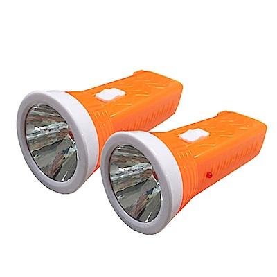 NAKAY 300米照明充電式LED手電筒(NLED-101) 2入