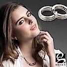 MASSA-G LJ純鈦系列【Athena Series 雅典娜】健康純鈦耳環(一對)