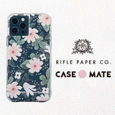 美國 Case-Mate iPhone 13 Pro Max Rifle Paper Co. 限量聯名款防摔抗菌手機保護殼 - 小花柳葉菜