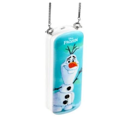 InfoThink 隨身項鍊負離子空氣清淨機 雪寶 冰雪奇緣系列