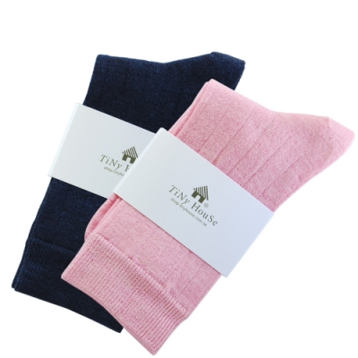 TiNyHouSe T-610/601超細輕薄保暖襪羊毛襪-中筒輕薄款(女用2雙組)