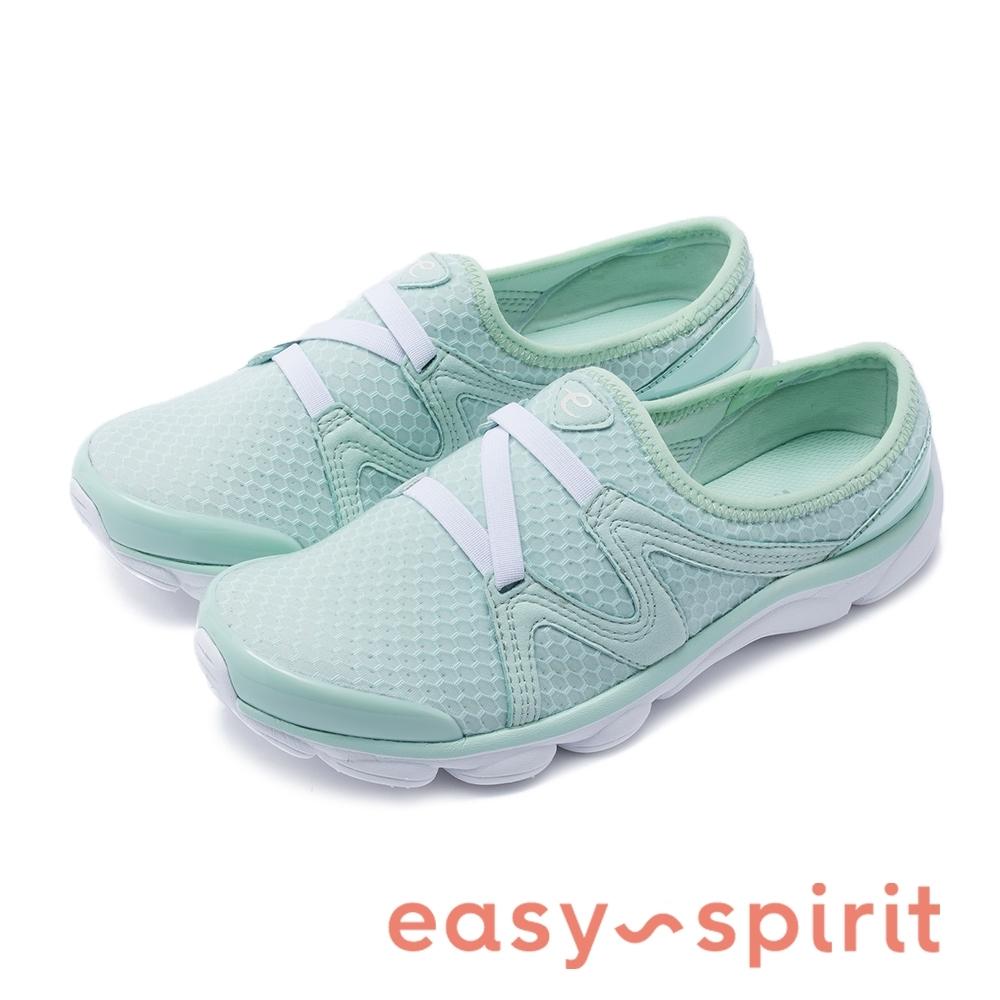Easy Spirit-seRIPTIDE2 多色款極輕量彈性微包跟拖鞋-綠色