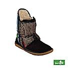 SANUK TRIPPER FLURRY 皮草拼接幾何設計雪靴-女款(黑色)