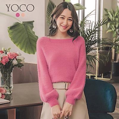 東京著衣-yoco 甜心第一名毛海針織上衣(共二色)